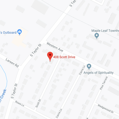 408 Scott Drive Map