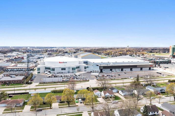 1095 Shadow Lane Aerial View