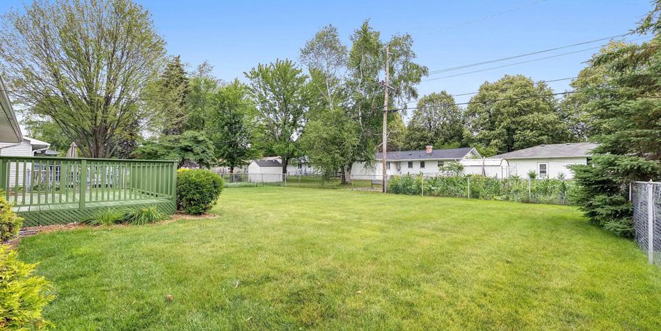 1174 Shadow Lane Back Yard Fence